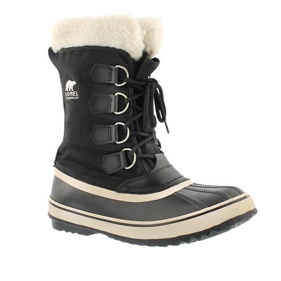 SOREL Winter Carnival Waterproof Boots Size 6